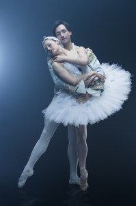 Ashley Ellis and Eris Nezha ©Eric Levin in Boston Ballet's Swan Lake