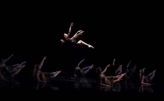 Boston Ballet Principals Dusty Button and Lasha Khozashvili in Celts.