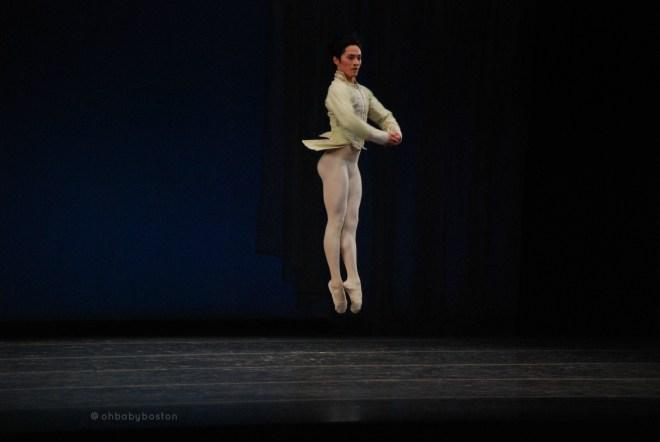 Principal Jeffrey Cirio in Balanchine's Theme and Variations.