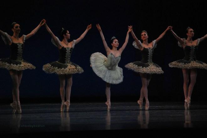 Principal Misa Kuranaga in Balanchine's Theme and Variations.