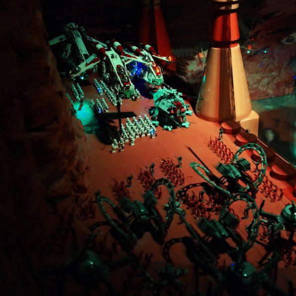 Star Wars Miniland at Legoland