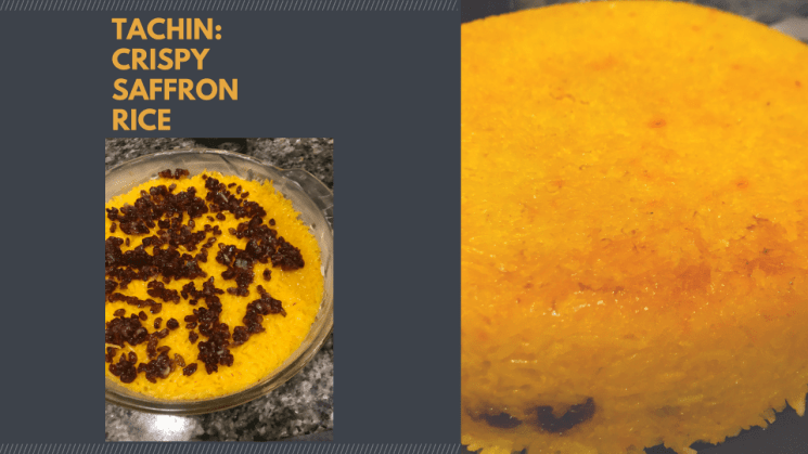 Tachin Saffron Rice by Andy Baraghani