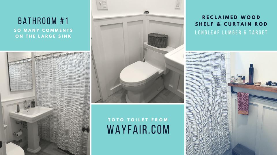 Bathroom 1 renovation