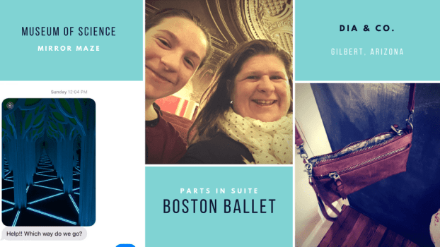 From mirror mazes at the museum of science in Boston to Parts in Suite at the Boston Opera House