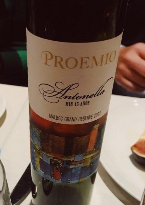 Proemio's Antonella was made for his daughter's birthday celebration.