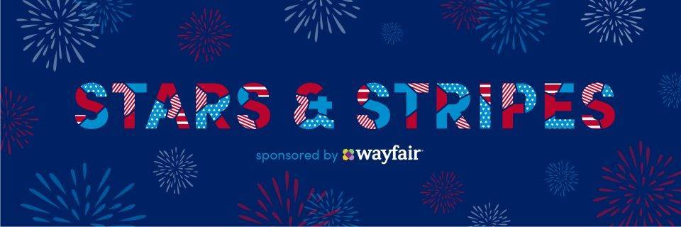 Stars and Stripes with Wayfair and City Living (Boston)