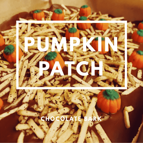 Pumpkin Patch Chocolate Bark: Halloween Fall Treats