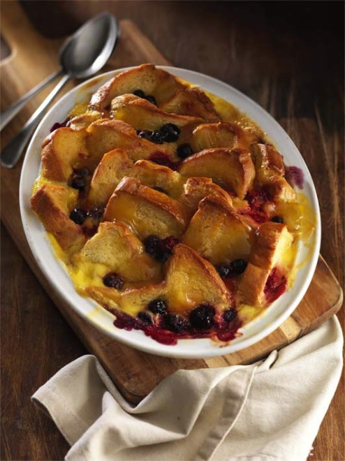 Traditional Bread Pudding with French Brioche (partner)