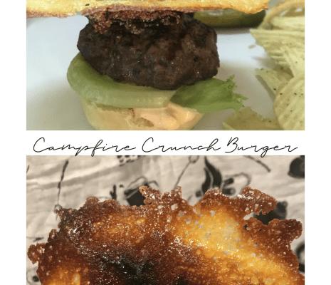 Burger Month:  Campfire Crunch Burger
