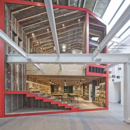 Arhitekturna zasnova trgovine Camper.
