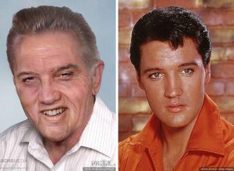 Elvis Presley - umrl leta 1977 pri 42-letih.