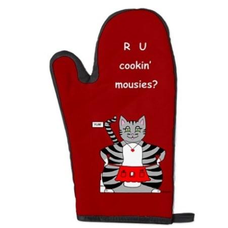 Mačja kuharska rokavica