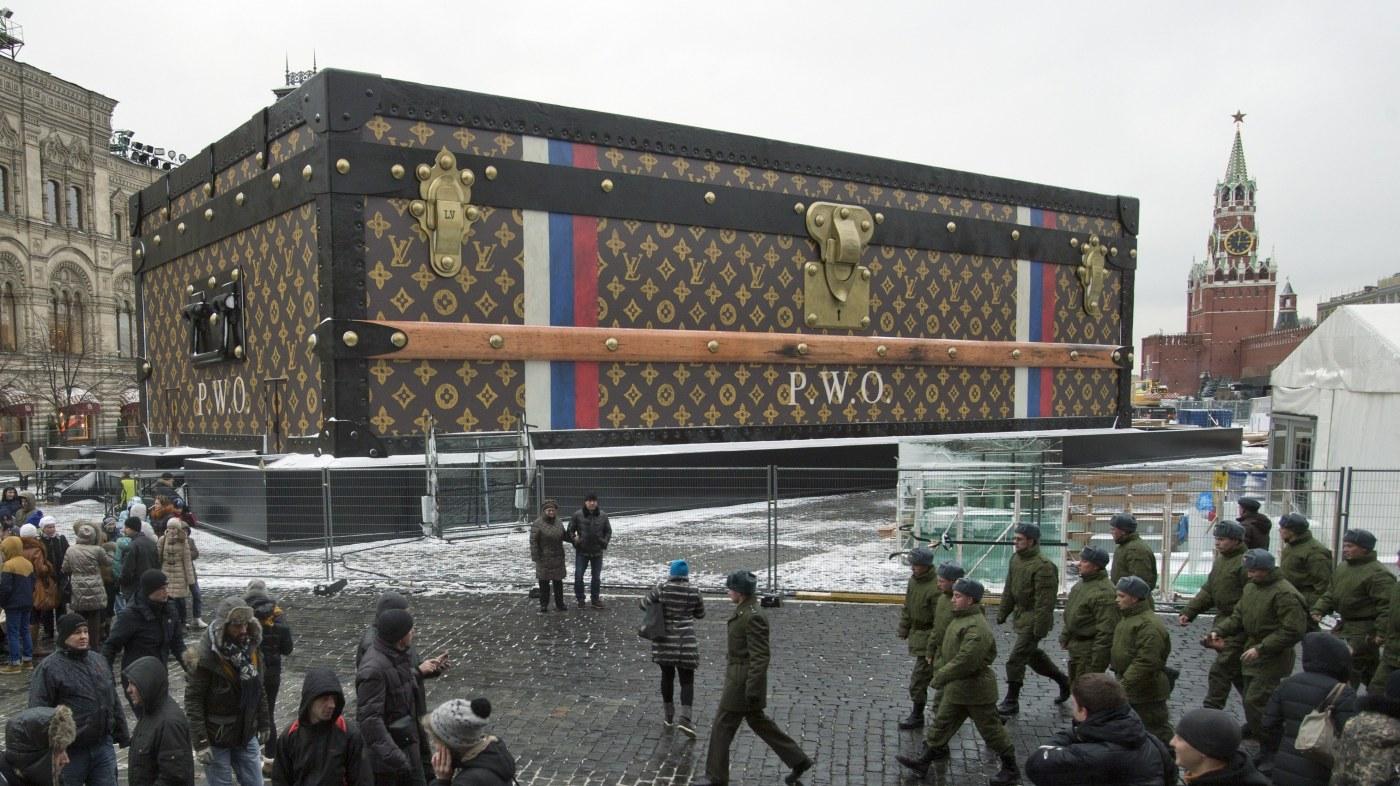 louis vuitton kovček v moskvi
