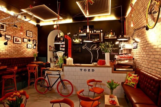 TOZD ni le navaden lokal, je tudi tovarna, oplemenitena za dizajn. Foto: Facebook profil TOZDa