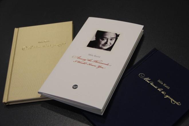 Prevod poezij Mile Kačič v »Among the Thousands I Would Know You«.