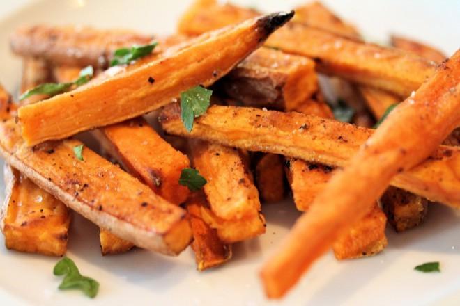 Sladki krompir je vir izjemnega beta-karotena.