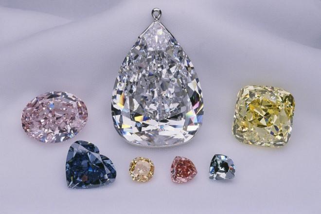 Prekrasni Millenium Star diamant.