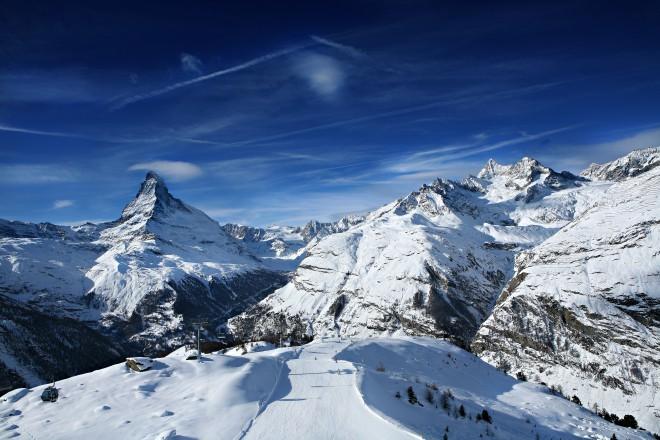Magičnost švicarskih gora v objemu alpske vasice Zermatt. Foto:  Epicski