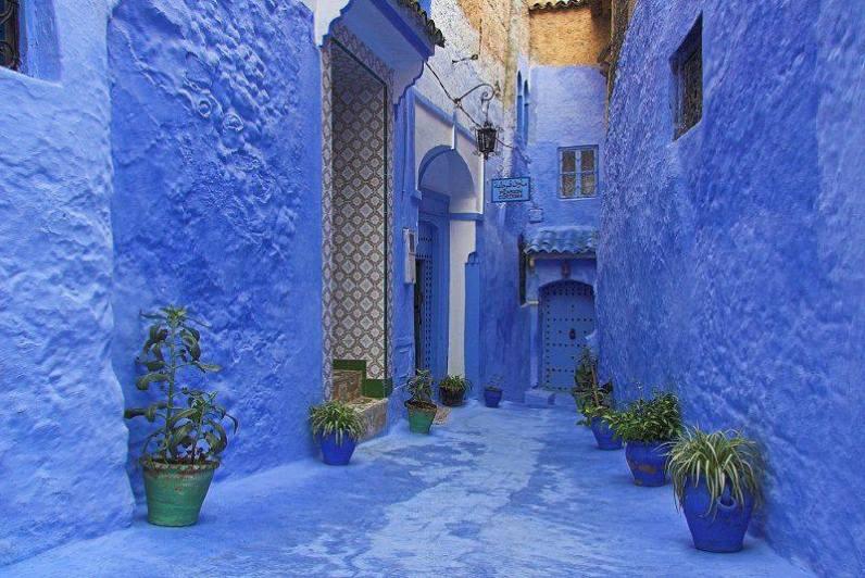 4. Chefchaouen ali Chaouen - severozahod Maroka