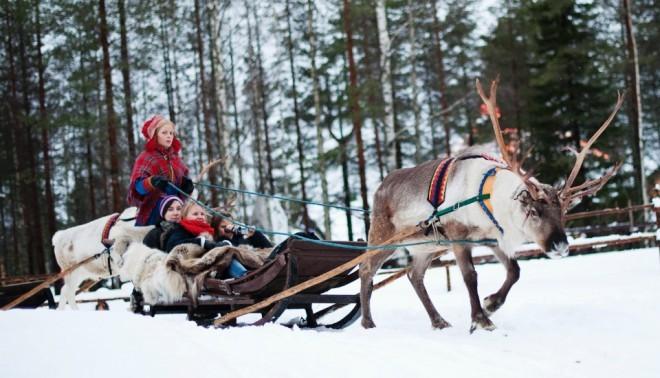 Božiček je doma v vasi Santa Claus. Foto:  Edition Cnn