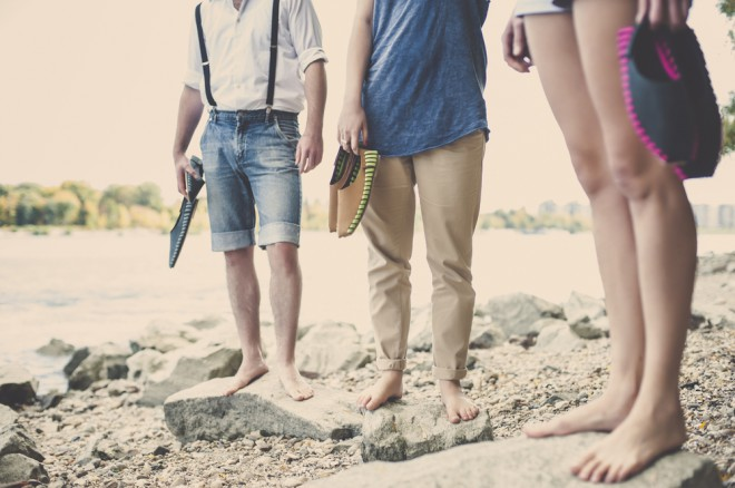 Lahkotna in vzdržljiva obutev živahnega videza bo odlična za sončna raziskovanja. Foto: Pikkpack Shoes.
