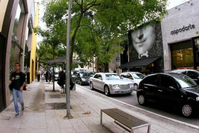 Rua Oscar Freire, São Paulo. Foto: bonvoyagesp.blogspot.com
