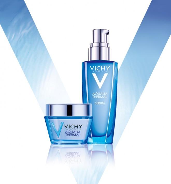 Nove Vichyjeve nege Aqualia Termal so na voljo v lahki ali bogati teksturi, glede na vrsto kože.