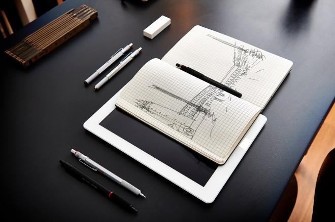 En, dva, in še preden rečete tri, imate ali tehnični svinčnik ali pisalo za tablico. Dva v enem za ceno enega!