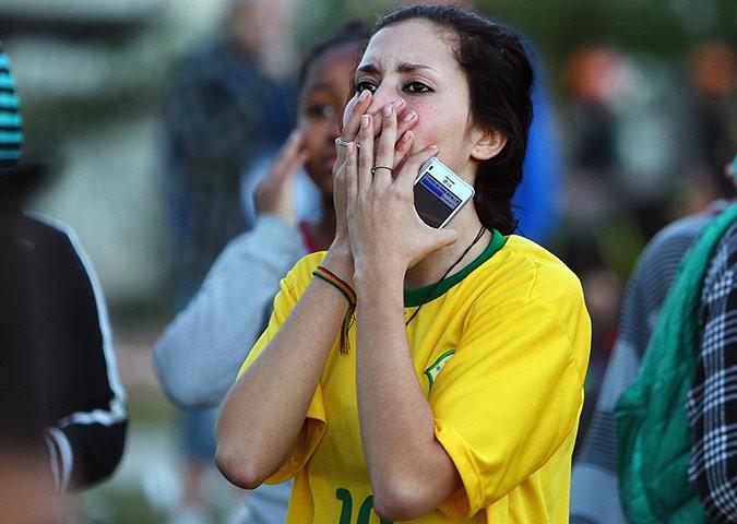 Brazilina fans react