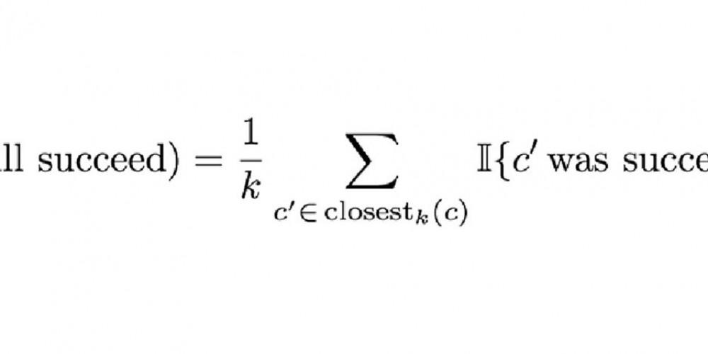 Formula, ki napove uspeh