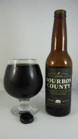 9. Goose Island - Bourbon County Stout. To je temno pivo iz Chicaga (ZDA). Ocena: 4.283/5
