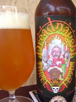 5. Three Floyds Brewing's - Dreadnaught Imperial IPA. Pivo z aromo manga in breskve prihaja iz Indiane (ZDA). Ocena: 4.3/5