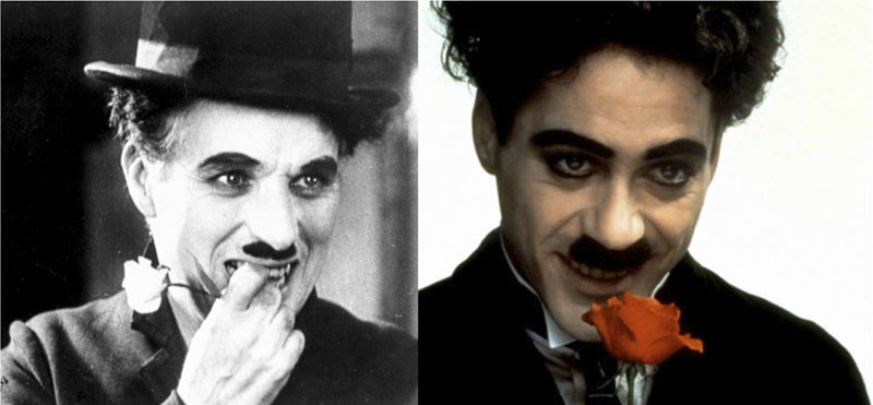 Charlie Chaplin - Robert Downey Jr.