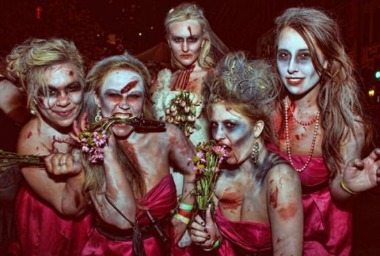 Zombie-Bride-And-Bridesmaids-Costumes