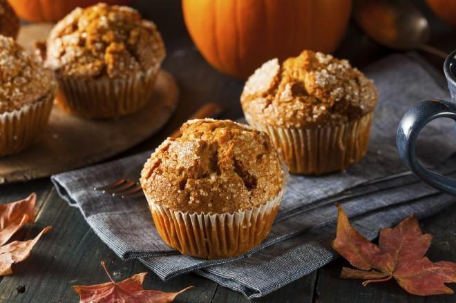 Bučkini muffini