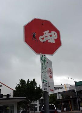 Še en znak več, da so grafiti povsod.