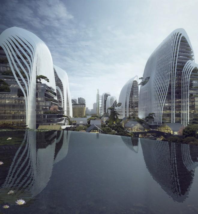 Nanjing Zendai Himalayas center arhitektov MAD.