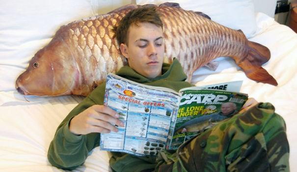 Riba blazina.