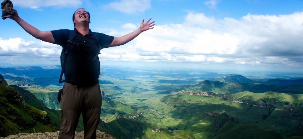 Dave Danzeiser na ''vrhu sveta''.