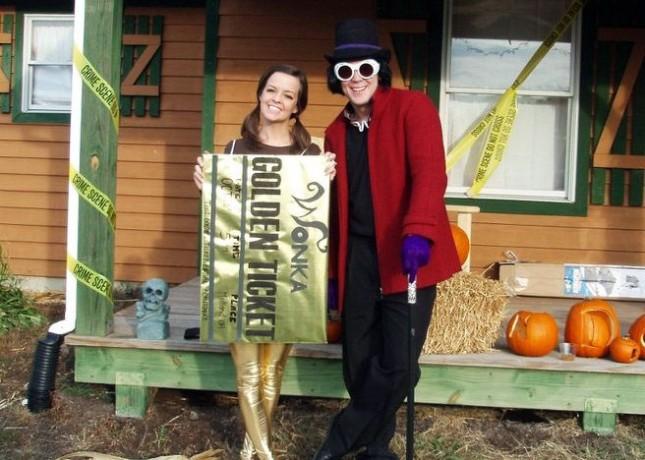 Willy Wonka in zlata vstopnica