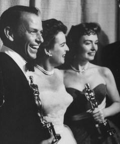 Frank Sinatra, Mercedes McCambridge in Donna Reed