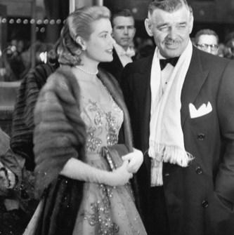 Clark Gable in Grace Kelly