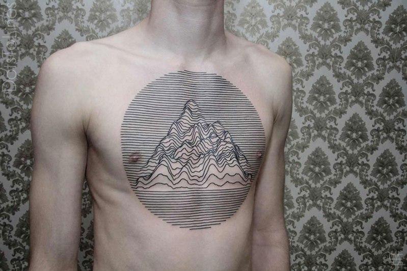 Elegantni geometrični tatuji