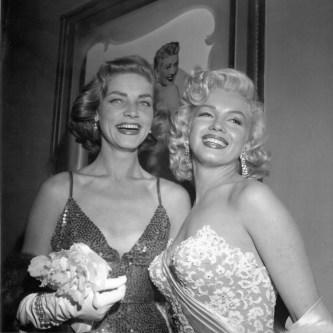 Lauren Bacall in Marilyn Monroe