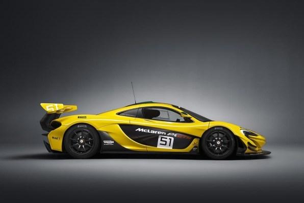McLaren F1 GTR in njegov najmlajši sorodnik McLaren P1 GTR.