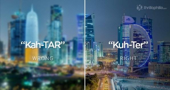 Katar, Bližnji vzhod