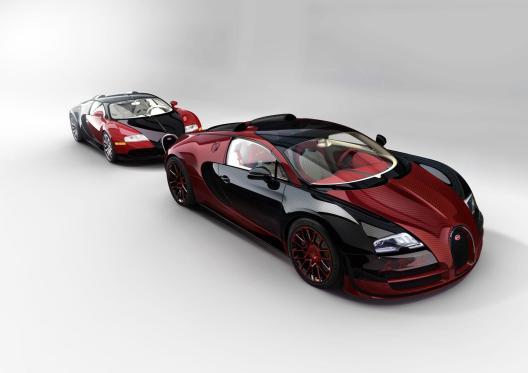 Prvi in zadnji Bugatti Veyron. Veyron EB 16.4 in Veyron Grand Sport Vitesse La Finale.