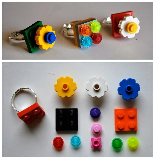 Od bižuterije pa lahko Lego kocke uporabite tudi za izdelavo uhanov.