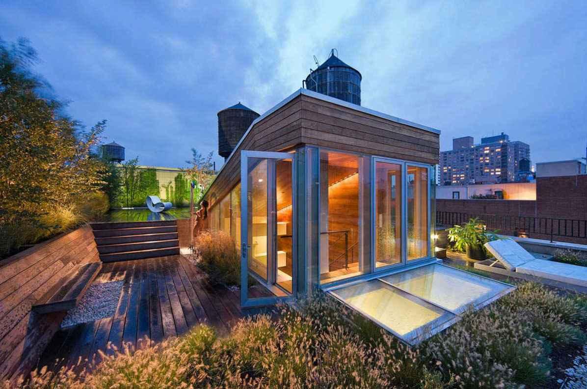 Terasa iz lesa oreha, New York