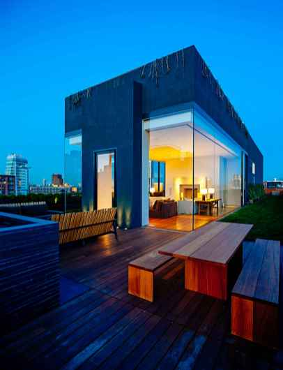 Penthouse Iana Schragerja na Bond Street, New York